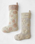 Embroidered Felted-Wool Stocking