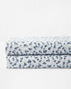 Ditsy Floral Relaxed-Linen Bedding and Pillow Cover