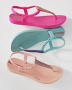 Ipanema Kids' Glitter T-Strap Sandals