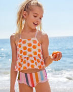 Girls' Ruffle Tankini by Pink Chicken