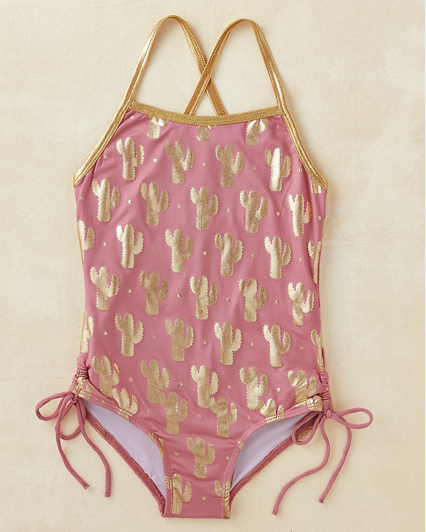 43c39d93f3afa NEW Girls  Cross-back One-Piece Swimsuit by Masala Baby