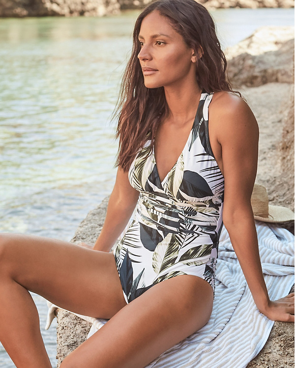 4ac75c1547b La Blanca Moment-of-Zen Mio Swimsuit   Garnet Hill