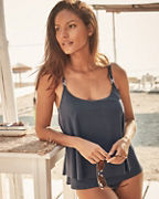 Michael Kors Radiant Chain Layered Tankini