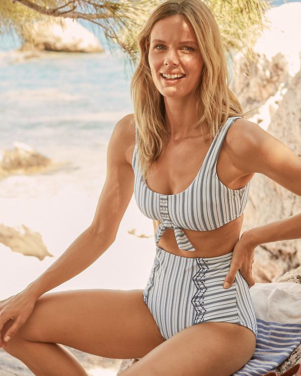 70b8363c168f2 Seafolly Sea-Stripe Retro Bikini Top