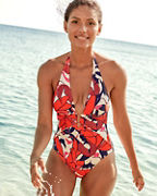 Vince Camuto Wild Lotus One-Piece Swimsuit