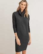 Turtleneck Cocoon Dress