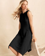 High-Neck Essential Dress