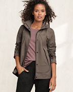 High-Low Pleated Jacket