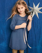 Girls' Isabella Organic-Cotton Sweater Dress