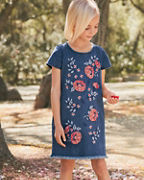 Girls' Denim T-Shirt Dress