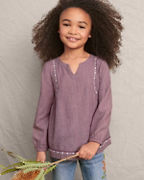 Girls' Waverly Long-Sleeve Top