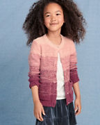 Girls' Ombre Cardigan