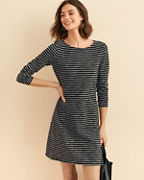 Easy Textured Knit Dress