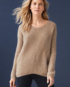 Cashmere Chunky-Rib Pullover