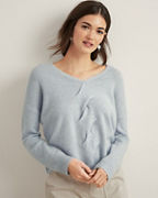 Cashmere Twist-Cable Sweater