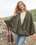 Alpaca Sweater Cape