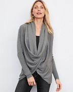 Eco Merino Wool Convertible Cardigan