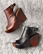 Kork-Ease® Berit Peep-Toe Booties