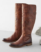 Peyton Rustic Leather Boots