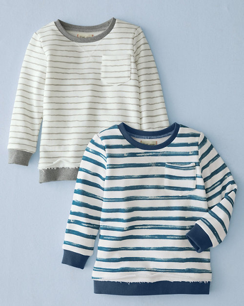 aa393701ee79 Me   Henry Boys  Striped Sweatshirt