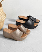 Kork-Ease® Greer Wedge Sandals