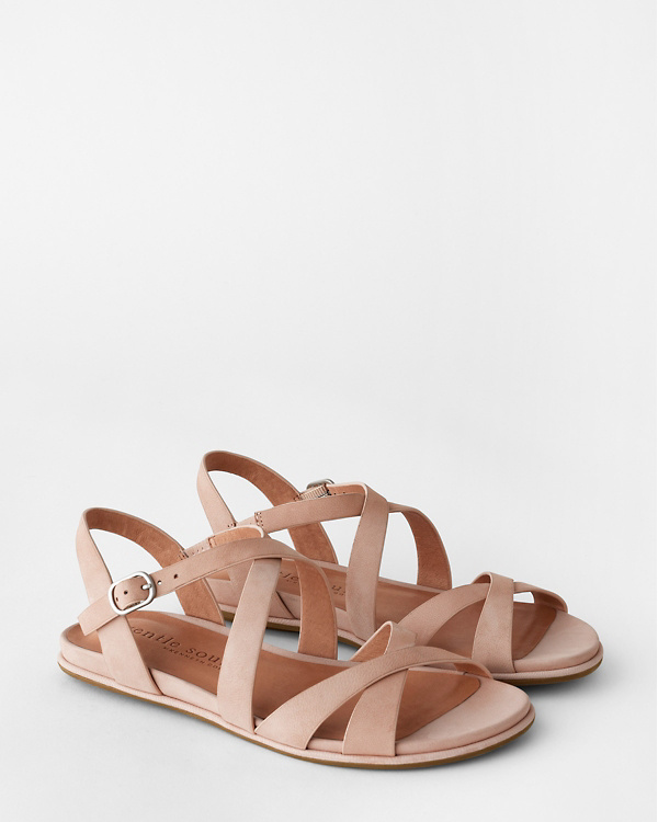 9b63b8e8bdfed Gentle Souls Lark Crisscross Sandals