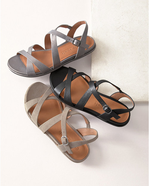 403cec19c Gentle Souls Lark Crisscross Sandals