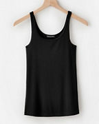 EILEEN FISHER Stretch-TENCEL™ Ribbed Tank