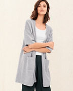 EILEEN FISHER Fine Organic Cotton & Silk Cardigan