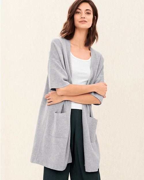 b6ac06ce8588c EILEEN FISHER Fine Organic Cotton   Silk Cardigan