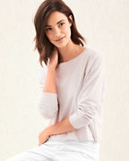 EILEEN FISHER Organic-Linen Stretch-Crêpe Sweater