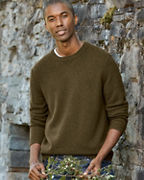 Men's Washable-Cashmere Sweatshirt
