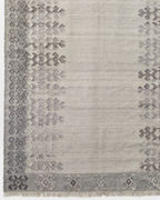 EILEEN FISHER Handwoven Heathered Wool Rug