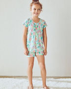 Girls' Signature Knit Sleepwear Top and Shorts