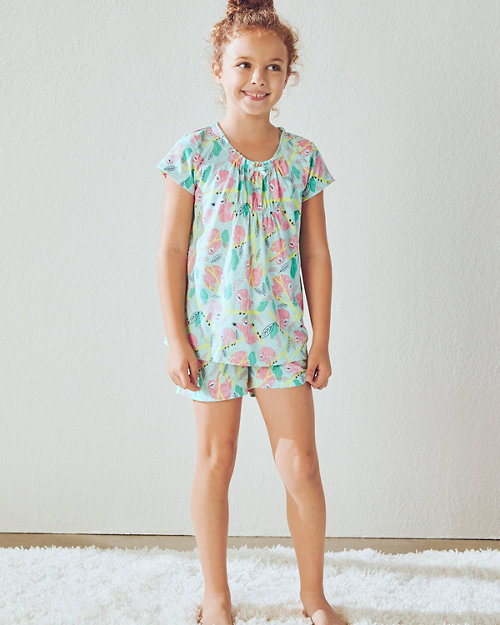 Girls  Signature Knit Sleepwear Top and Shorts f7e3df066