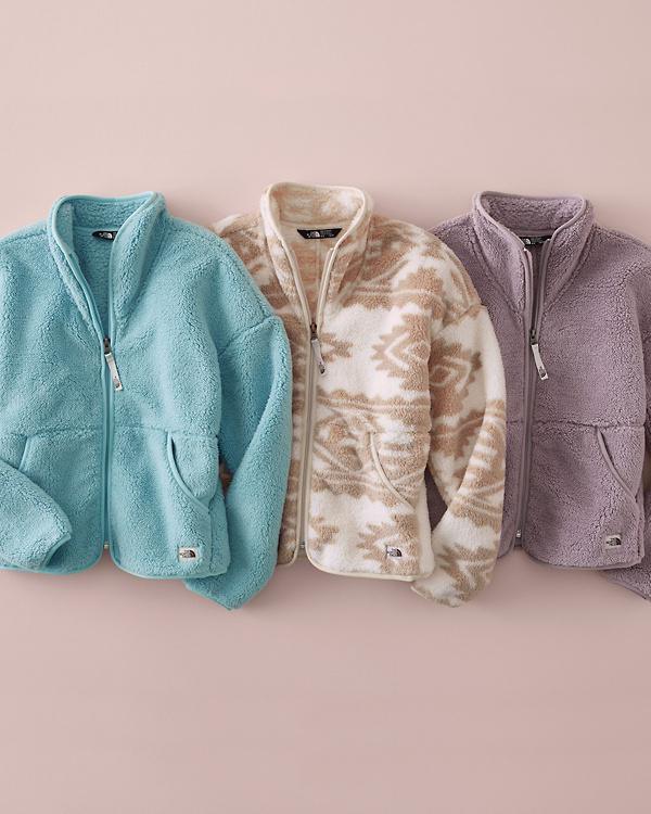 60faae2e9 The North Face® Girls' Campshire Fleece Cardigan