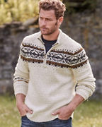 Men's Smartwool® CHUP Hansker Half-Zip Sweater