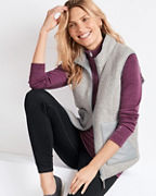 Smartwool® Women's Anchor-Line Reversible Sherpa Vest