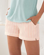 Pima Sateen Sleep Shorts