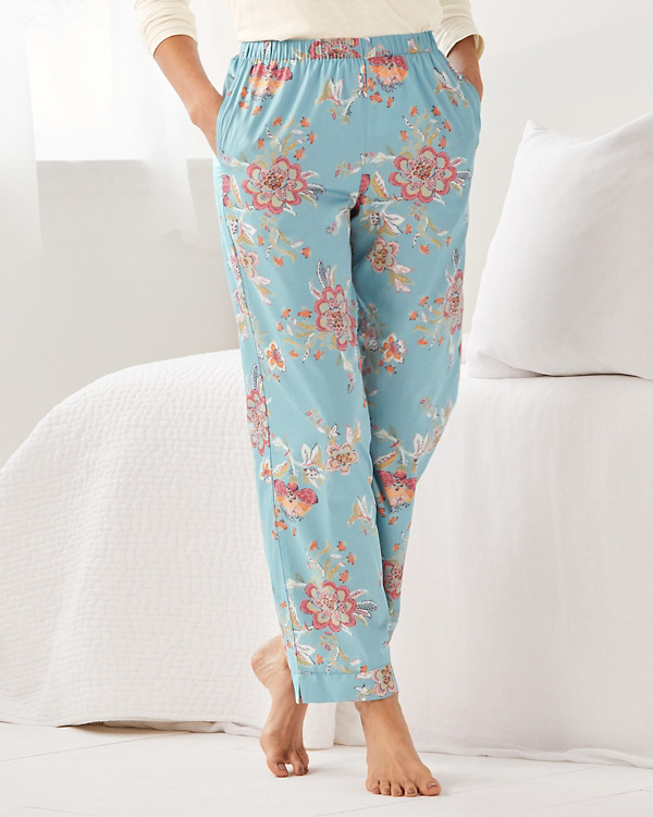 Sateen Pajama Pants