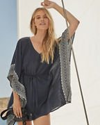 Embroidered Kaftan Cover-Up