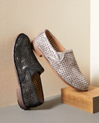 Trask Ali Perforated Loafers