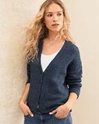 EILEEN FISHER Alpaca & Organic Cotton Modern Cardigan
