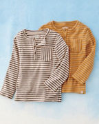 Boys' Me & Henry Long-Sleeve Henley