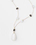 Michelle Pressler Moonstone Pendant Necklace