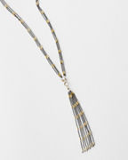Robindira Unsworth Long Tassel Necklace