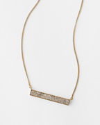 Shana Gulati Simple Bar Necklace