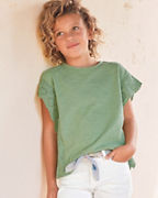 Girls' Reagan Ruffle-Sleeve Tee