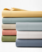 Solid Siesta Washed-Organic-Cotton Percale Collection