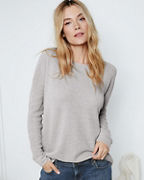 EILEEN FISHER Fine Organic-Cotton & Silk Textured Pullover